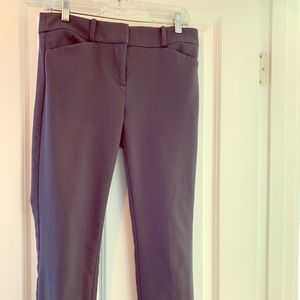 Stretch skinny ankle pants